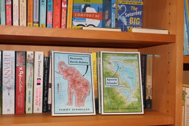 Hurry now to get your copy of Nazareth, North Dakota and Apostle Island! (Find them at the Paper Back Exchange, located near the Duomo in Florence, Italy)