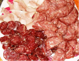 Tuscan cured meats
