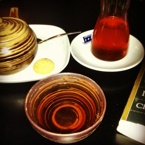 Tea from Meykadeh Café on Via dei Pepi, 14. Photo by Allison Boyd
