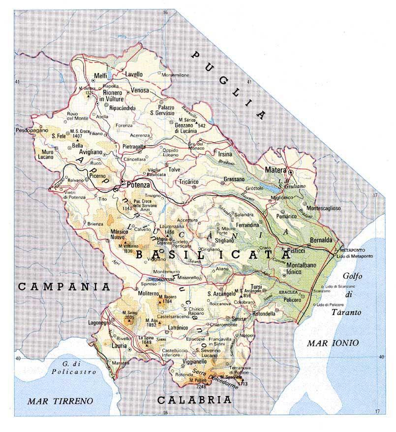 Regional Flavors of Italy Basilicata Marist Italy