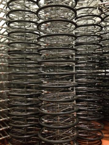 Ai WeiWei Bicycles Exhibit, Palazzo Strozzi