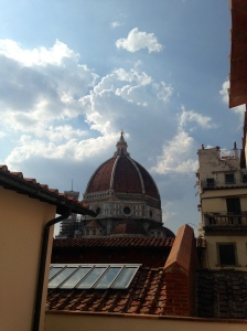 Dope study spot at Biblioteca Opedale with view of Duomo