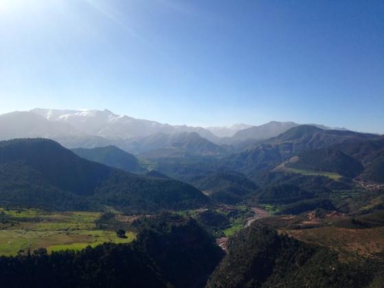 Moroccan Countryside drive through Atlas to Sahara