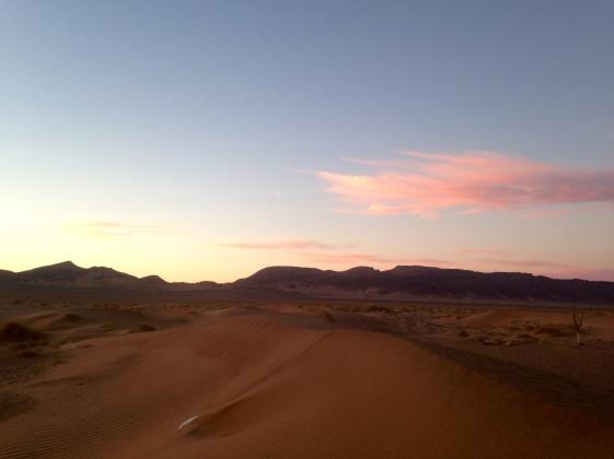 Sunrise, Zagora, Sahara, Morocco
